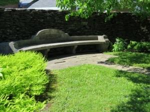 Goddard garden bench